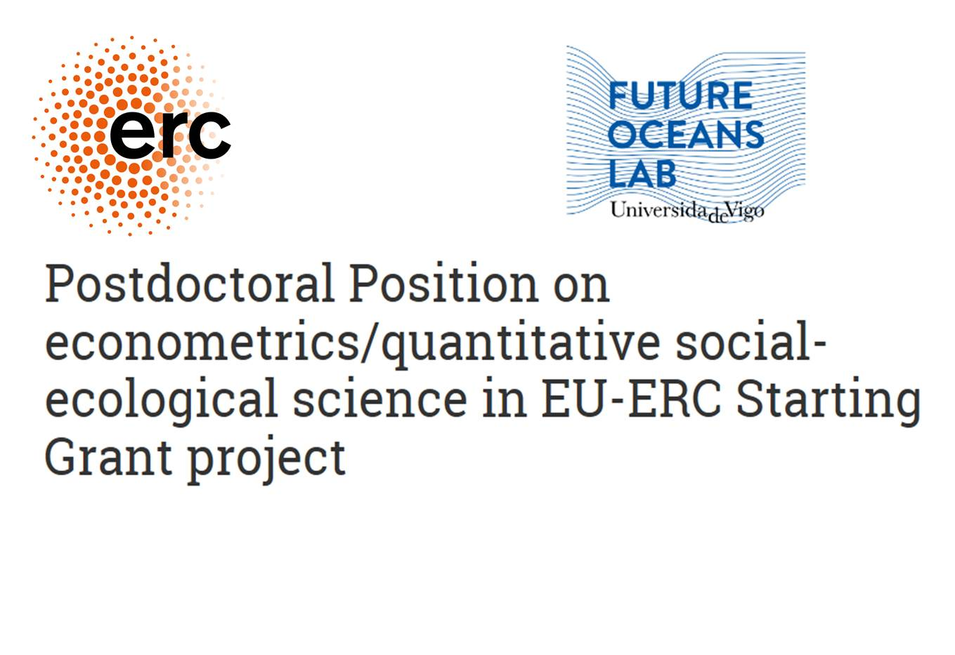 New Postdoctoral Position on econometrics/quantitative